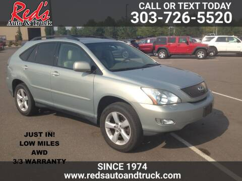 2005 Lexus RX 330 for sale at Red's Auto and Truck in Longmont CO