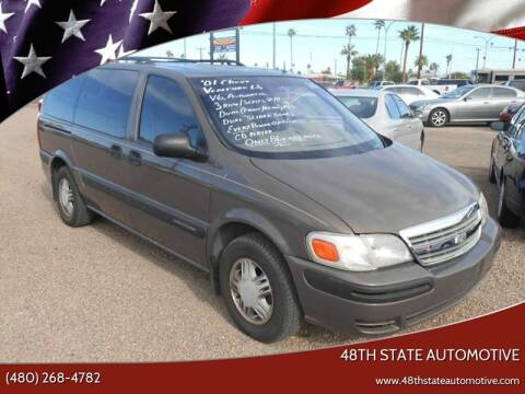 2001 Chevrolet Venture for sale at 48TH STATE AUTOMOTIVE in Mesa AZ