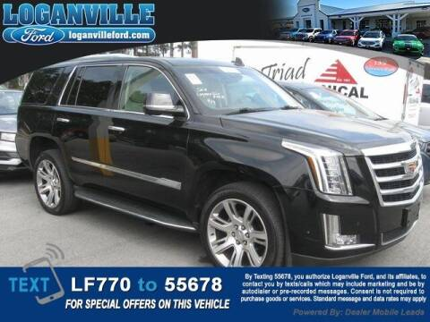 2017 Cadillac Escalade for sale at Loganville Quick Lane and Tire Center in Loganville GA