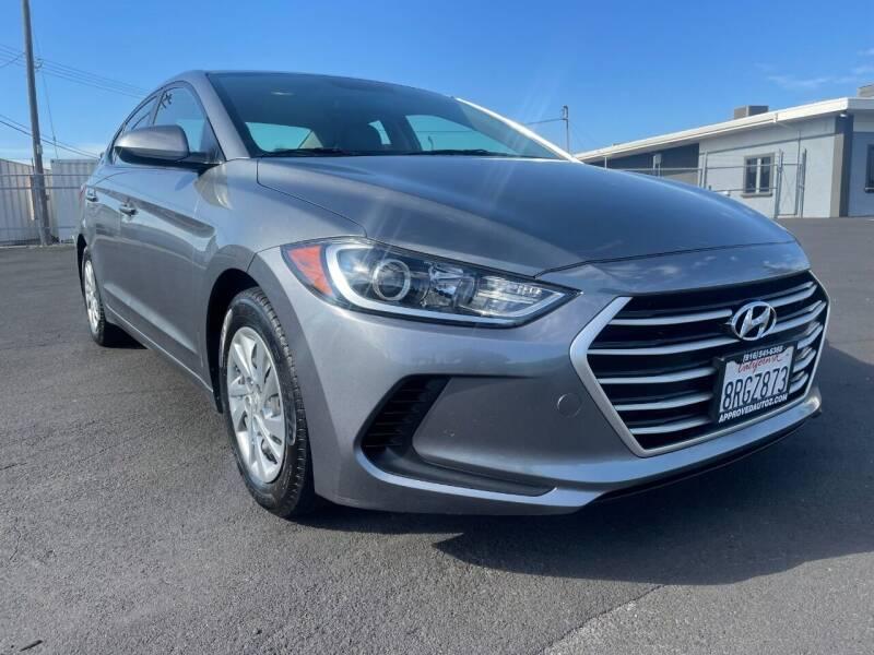 2017 Hyundai Elantra for sale at Approved Autos in Sacramento CA