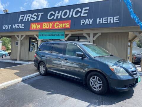 2006 Honda Odyssey for sale at First Choice Auto Sales in Rock Island IL