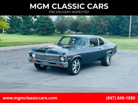1971 Chevrolet Nova for sale at MGM CLASSIC CARS-New Arrivals in Addison IL