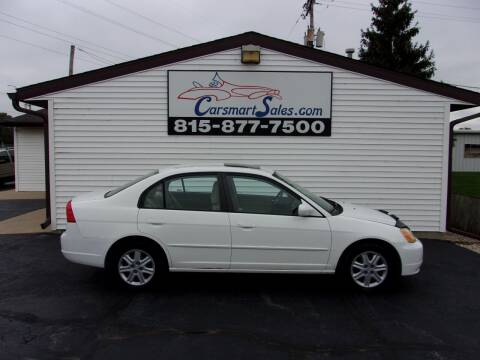 2003 Honda Civic for sale at CARSMART SALES INC in Loves Park IL