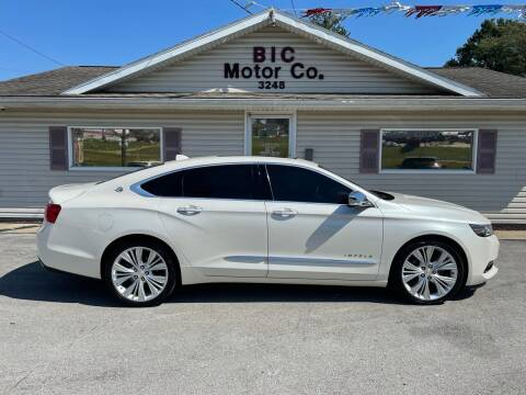 2014 Chevrolet Impala for sale at Bic Motors in Jackson MO