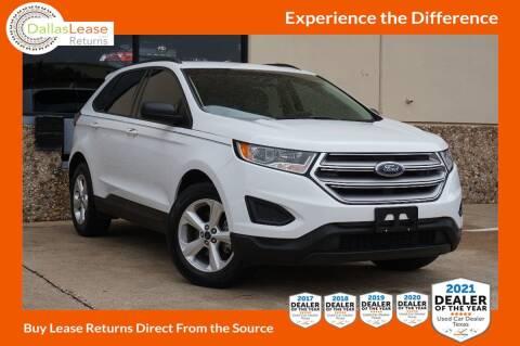 2015 Ford Edge for sale at Dallas Auto Finance in Dallas TX