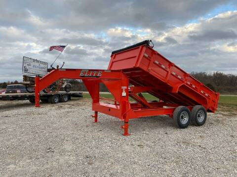 "2021 Elite 83""x14' Dump Trailer for sale at Ken's Auto Sales & Repairs in New Bloomfield MO"