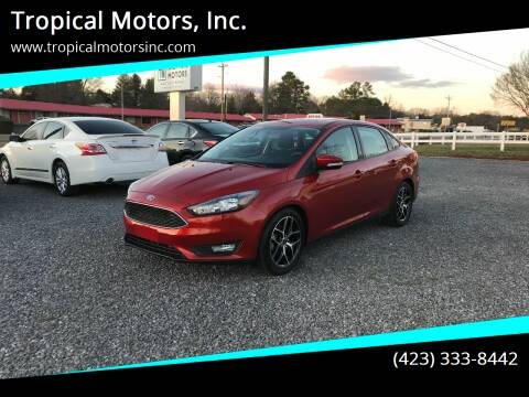 2018 Ford Focus for sale at Tropical Motors, Inc. in Riceville TN