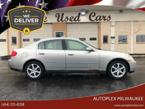 2004 Infiniti G35 for sale at Autoplex 3 in Milwaukee WI