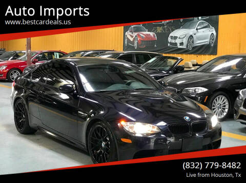 2013 BMW M3 for sale at Auto Imports in Houston TX