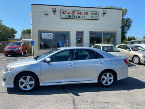 2013 Toyota Camry for sale at C & S SALES in Belton MO