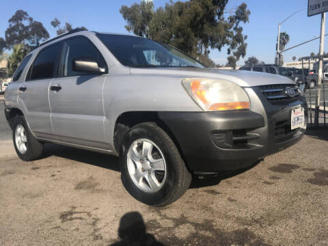 2007 Kia Sportage for sale at Beyer Enterprise in San Ysidro CA