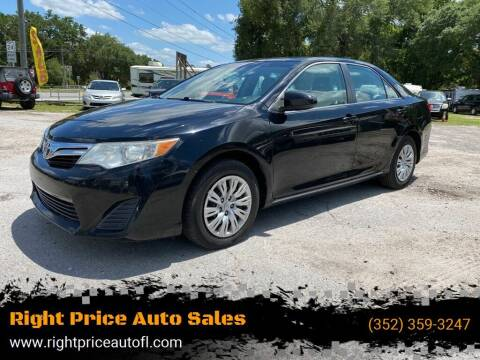 2012 Toyota Camry for sale at Right Price Auto Sales-Gainesville in Gainesville FL