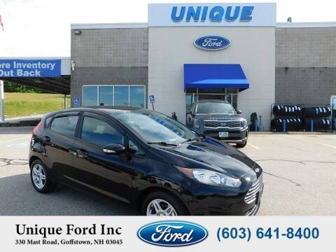 2019 Ford Fiesta for sale at Unique Motors of Chicopee - Unique Ford in Goffstown NH