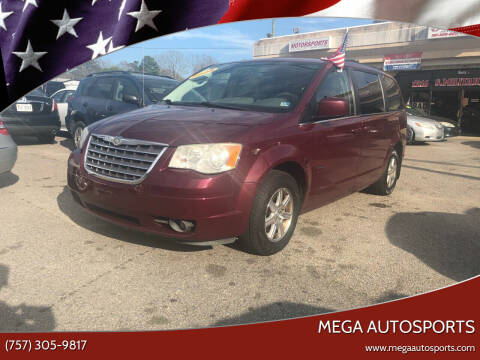 2008 Chrysler Town and Country for sale at Mega Autosports in Chesapeake VA
