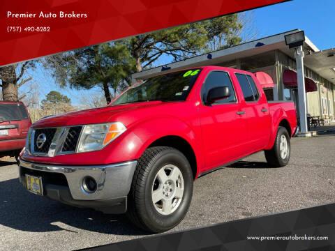 2006 Nissan Frontier for sale at Premier Auto Brokers in Virginia Beach VA