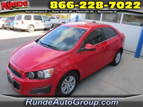 2015 Chevrolet Sonic for sale at Runde Chevrolet in East Dubuque IL