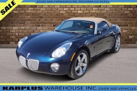 2007 Pontiac Solstice for sale at Karplus Warehouse in Pacoima CA