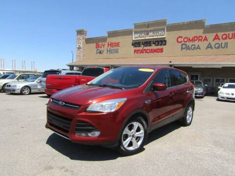 2016 Ford Escape for sale at Import Motors in Bethany OK