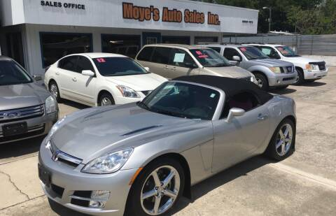 2007 Saturn SKY for sale at Moye's Auto Sales Inc. in Leesburg FL