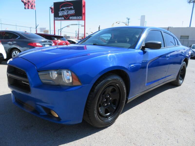 2014 Dodge Charger for sale at Moving Rides in El Paso TX