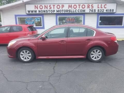 2012 Subaru Legacy for sale at Nonstop Motors in Indianapolis IN