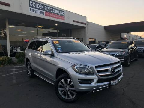 2014 Mercedes-Benz GL-Class for sale at Golden State Auto Inc. in Rancho Cordova CA