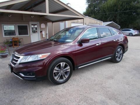 2013 Honda Crosstour for sale at DISCOUNT AUTOS in Cibolo TX