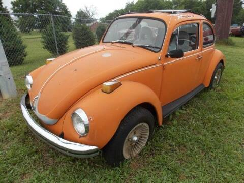 1972 Volkswagen Super Beetle for sale at Classic Car Deals in Cadillac MI