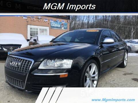 2008 Audi S8 for sale at MGM Imports in Cincannati OH