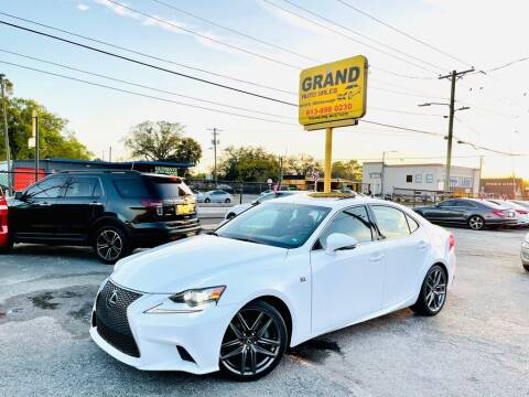 2014 Lexus IS 250 for sale at Grand Auto Sales in Tampa FL