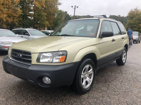 2004 Subaru Forester for sale at Used Cars 4 You in Serving NY