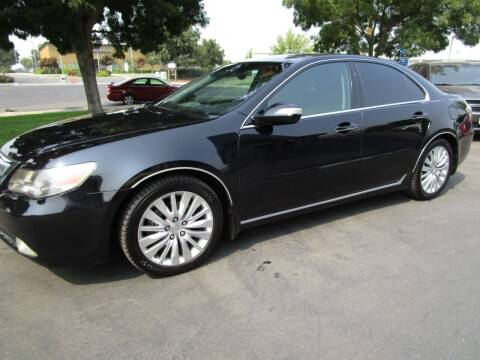 2012 Acura RL for sale at KM MOTOR CARS in Modesto CA