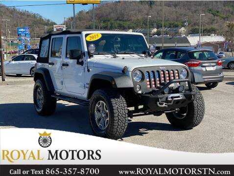 2015 Jeep Wrangler Unlimited for sale at ROYAL MOTORS LLC in Knoxville TN