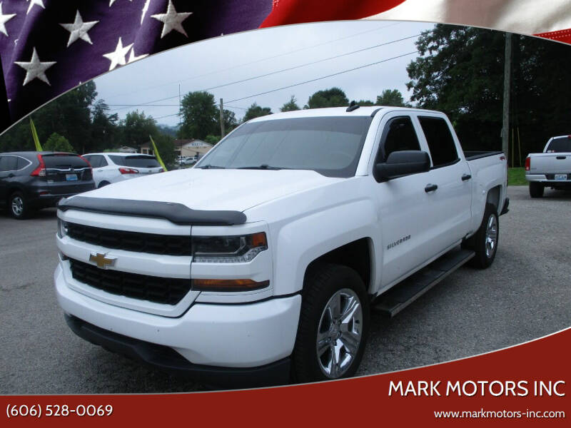 2018 Chevrolet Silverado 1500 for sale at Mark Motors Inc in Gray KY
