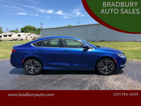 2015 Chrysler 200 for sale at BRADBURY AUTO SALES in Gibson City IL
