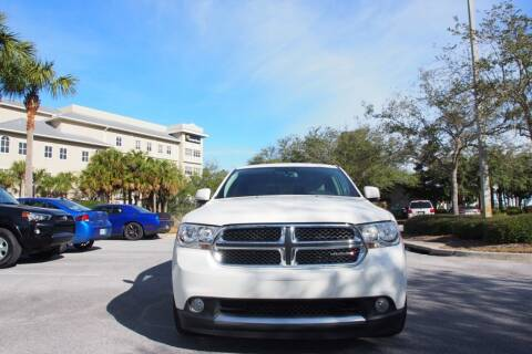 2012 Dodge Durango for sale at Gulf Financial Solutions Inc DBA GFS Autos in Panama City Beach FL