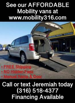 2008 Dodge Grand Caravan for sale at Affordable Mobility Solutions, LLC in Wichita KS