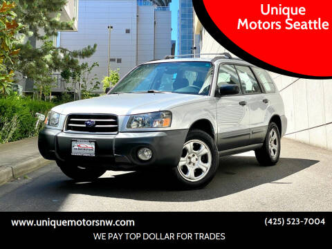 2005 Subaru Forester for sale at Unique Motors Seattle in Bellevue WA