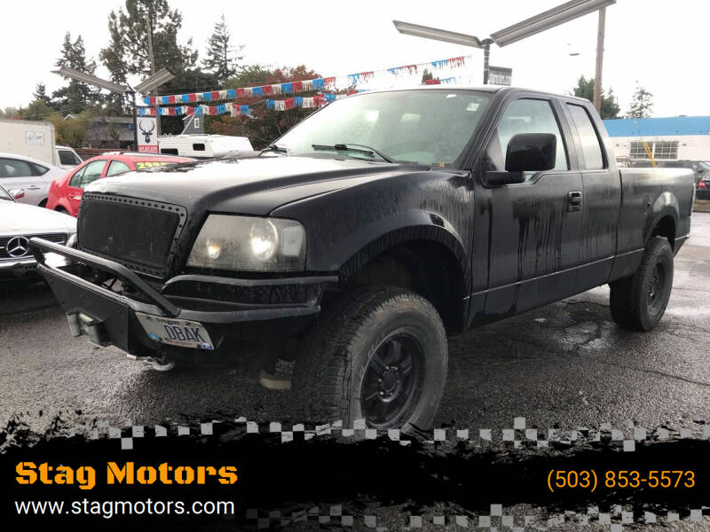 2007 Ford F-150 for sale at Stag Motors in Portland OR