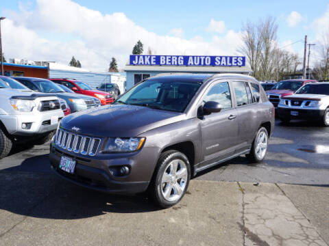2016 Jeep Compass for sale at Jake Berg Auto Sales in Gladstone OR