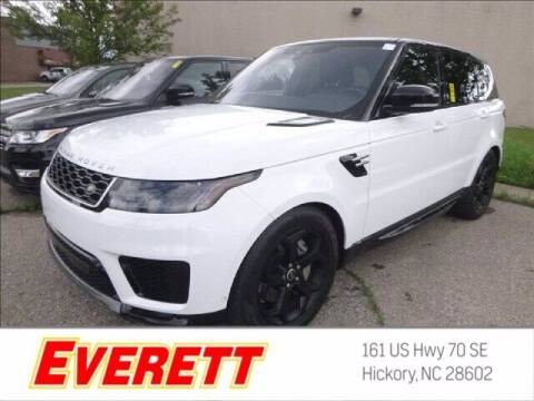 2018 Land Rover Range Rover Sport for sale at Everett Chevrolet Buick GMC in Hickory NC