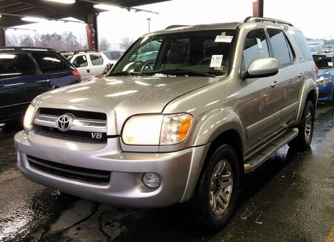 2005 Toyota Sequoia for sale at Angelo's Auto Sales in Lowellville OH
