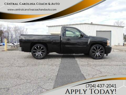 2010 Chevrolet Silverado 1500 for sale at Central Carolina Coach & Auto in Lenoir NC