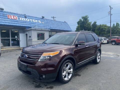 2011 Ford Explorer for sale at RD Motors, Inc in Charlotte NC