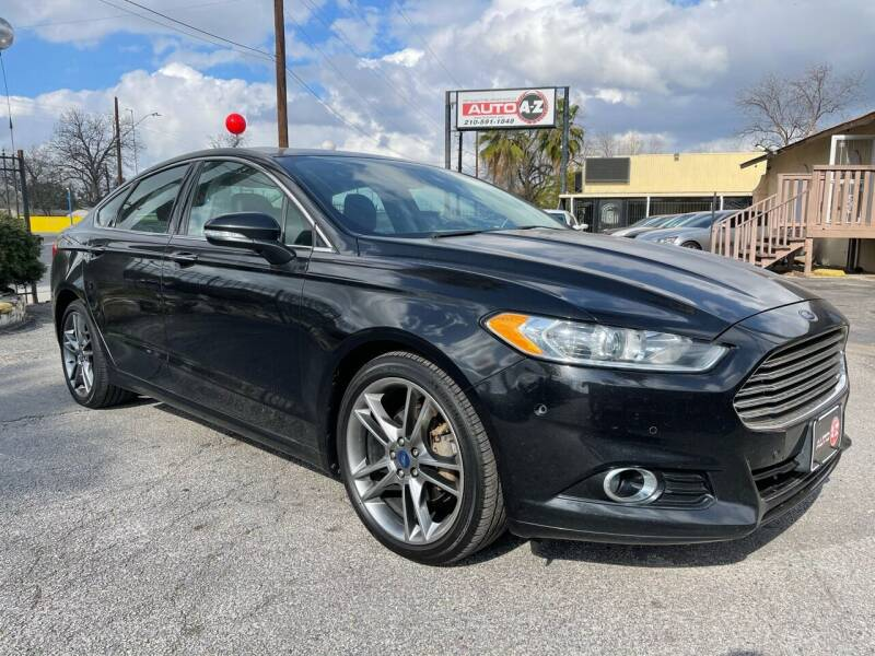 2014 Ford Fusion for sale at Auto A to Z / General McMullen in San Antonio TX