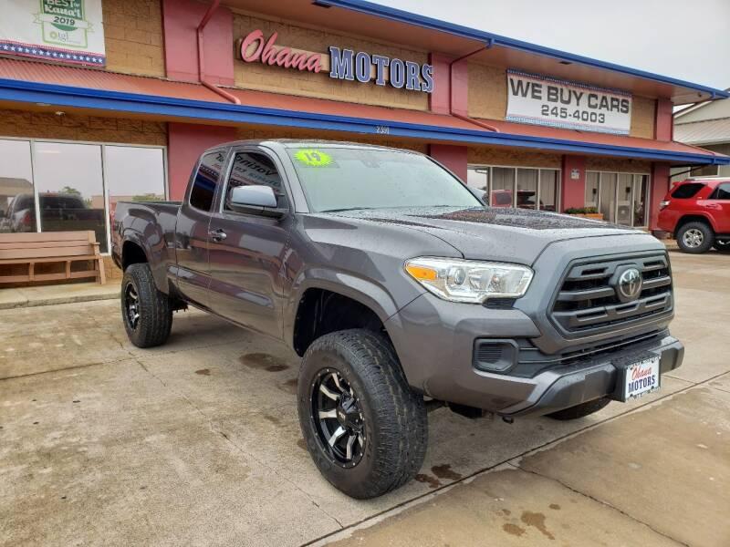 2019 Toyota Tacoma for sale at Ohana Motors in Lihue HI
