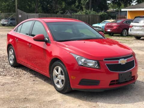 2014 Chevrolet Cruze for sale at Preferable Auto LLC in Houston TX