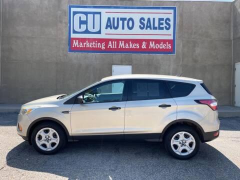 2017 Ford Escape for sale at C U Auto Sales in Albuquerque NM