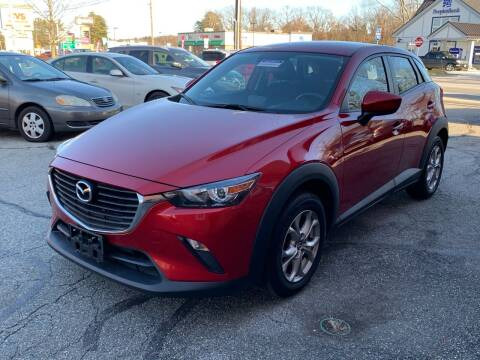 2017 Mazda CX-3 for sale at Ludlow Auto Sales in Ludlow MA