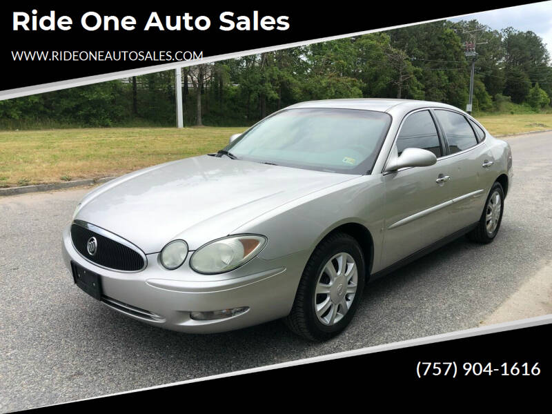 2006 Buick LaCrosse for sale at Ride One Auto Sales in Norfolk VA